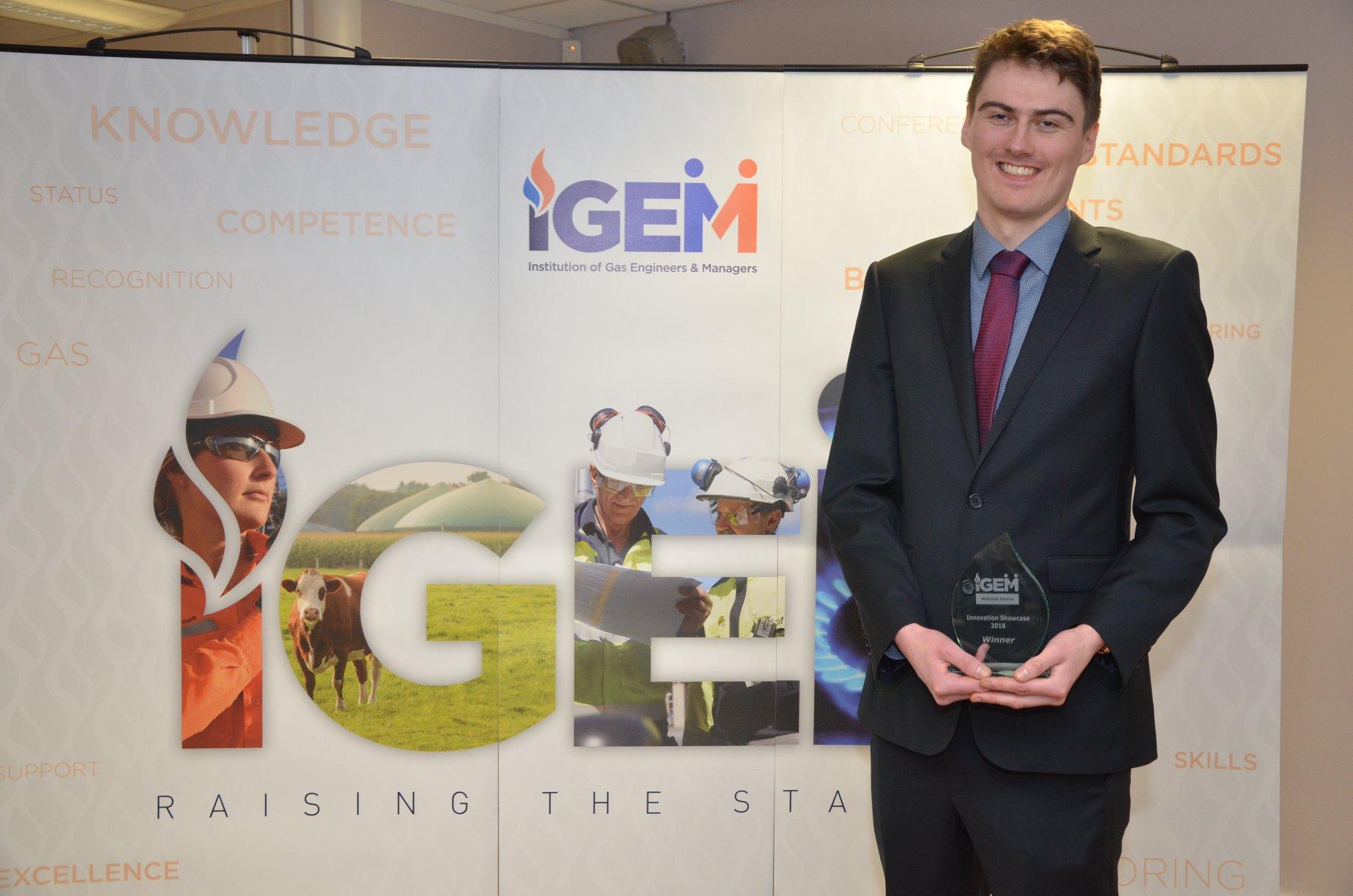 Rob lumb midlands igem winner innovation showcase 2